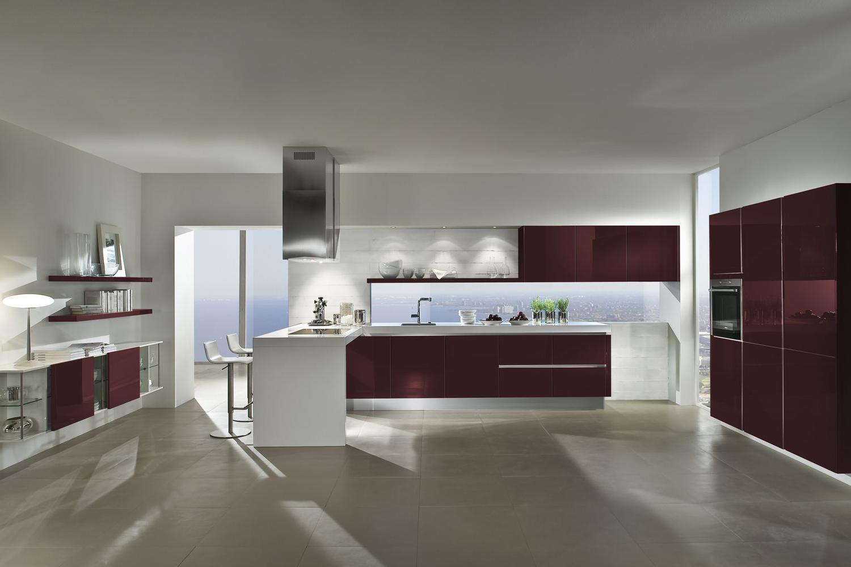 Küche in Hochglanz dank Lack-Fronten